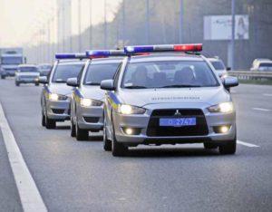 проблискові маячки поліції