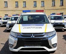 Переоборудование MITSUBISHI для Национальной полиции Украины