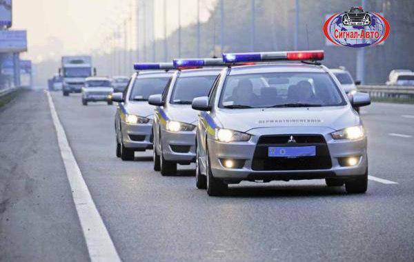 полиция  светоакустическая панель