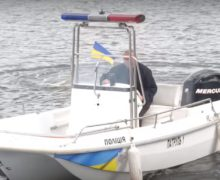В Черкассах появилась первая в Украине водная патрульная полиция