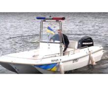 Переобладнання катера для Черкаської поліції