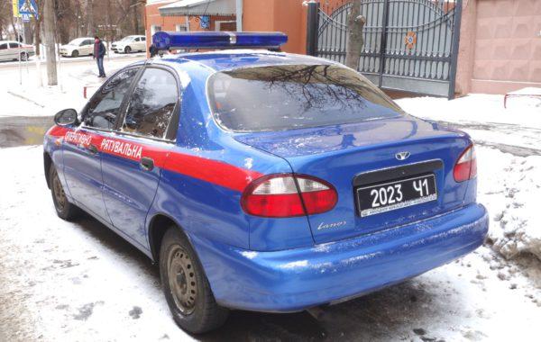 синяя мигалка сигнал авто